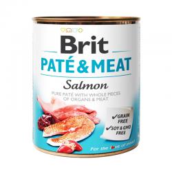 Brit Paté & Meat Salmón 800 Gr