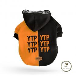 Yupi The Pug - Orange Hoddie