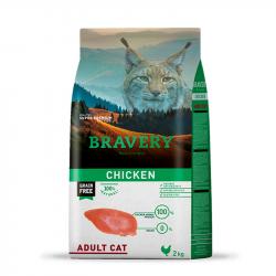 Bravery Gato Adulto – Pollo...